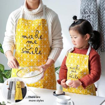 20Fashion adjustable apron men and women cotton and linen anti-fouling oil-proof cleaning apron suit