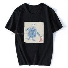 Erkek t-shirt canavarlar Inc Doodle Tshirt kadın T gömlek erkekler pamuk Tees Tops Hip Hop Harajuku Streetwear
