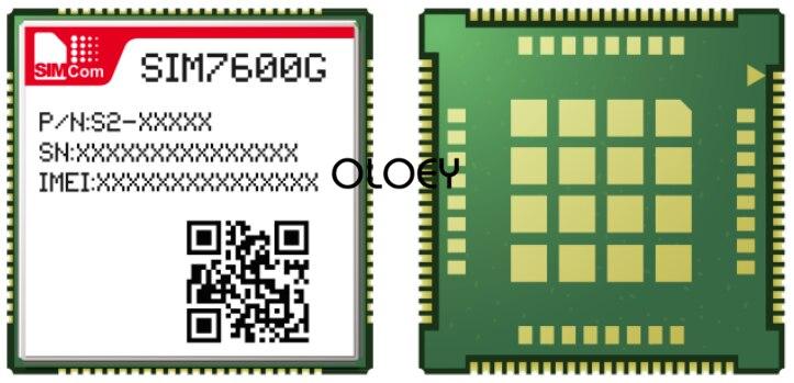 SIMcom SIM7600G LCC Cat1 Lte Module, 4G Module, Global Frequency Band, 100% Brand New Original