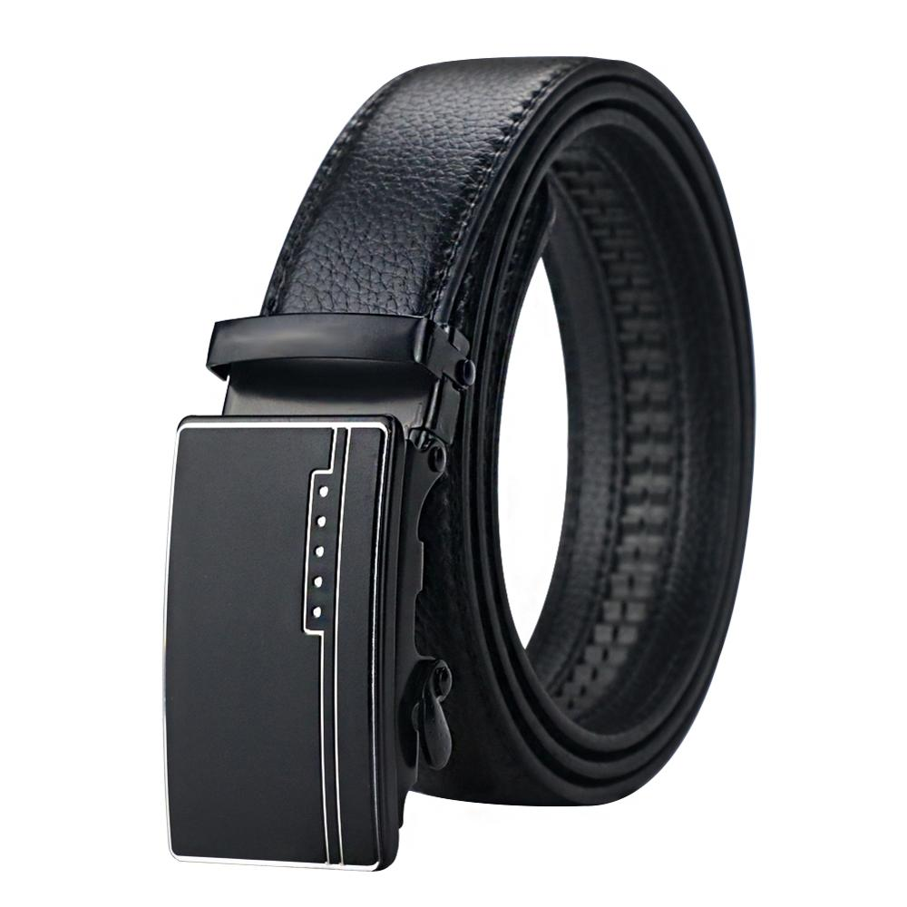 Maikun Belts For Men Automatic Buckle Leather Belt Luxury Men Belt For Business