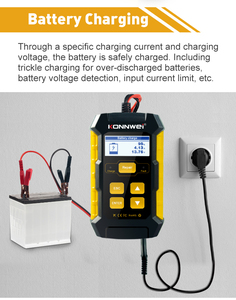Image 2 - Car Battery Charger Battery Analyzer Battery Voltage Tester Car Battery Repair Chargers Cricut Load Monitor Tool