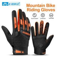 Перчатки inbike mtb перчатки для горного велосипеда дышащие