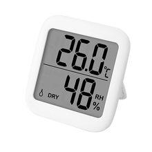 Digitale Thermometer Hygrometer Lcd Display Indoor Vochtigheid Babykamer Hoge Precisie Elektronische Temperatuur-vochtigheidsmeter 2020