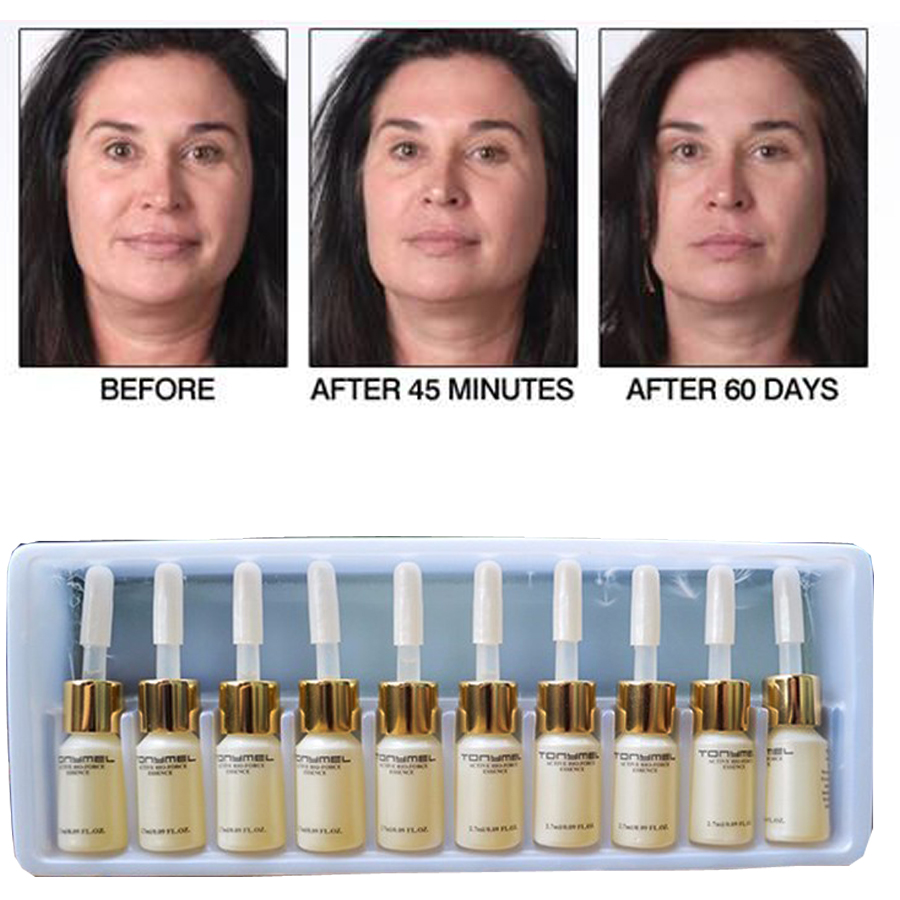 10PCS Anti Wrinkle Really Effective Products Magic Anti Aging Lift Face Cream Argireline Cream Hyaluronic Acid Serum image