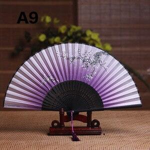 Image 3 - Seide Weiblichen Fan Chinesischen Japanischen Stil Klapp Fan Hause Dekoration Ornamente