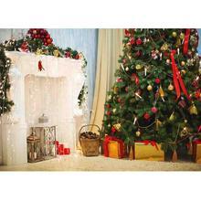 SHENGYONGBAO Vinyl Custom Photography Backdrops Prop Christmas day Theme Photo Studio Background  YN-5552