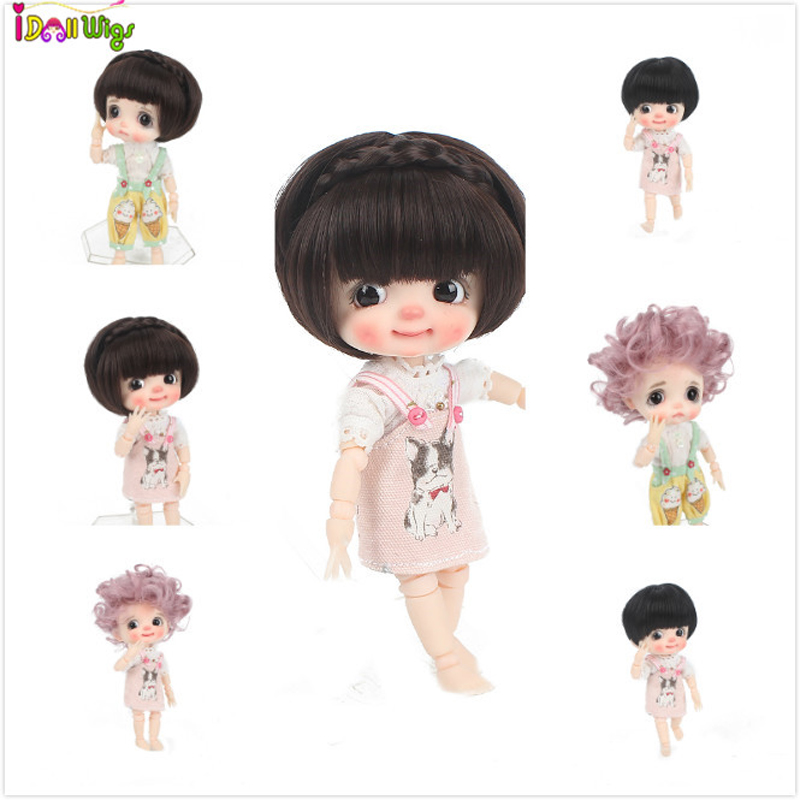 High Quality Muziwig 1/8 BJD&Kurhn Doll Wig Soft Fiber For Lovely Doll