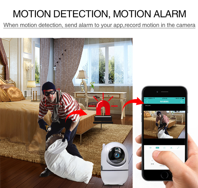 Motion Detection w/ Night Vision Baby Monitor 3