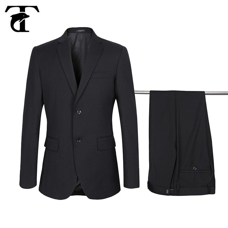 Adjustable Waistband Suit Men  Wedding 2020 Business Adjustment Buckle Pants Blazer Two-buttons Big Suit Terno Costume Homme New