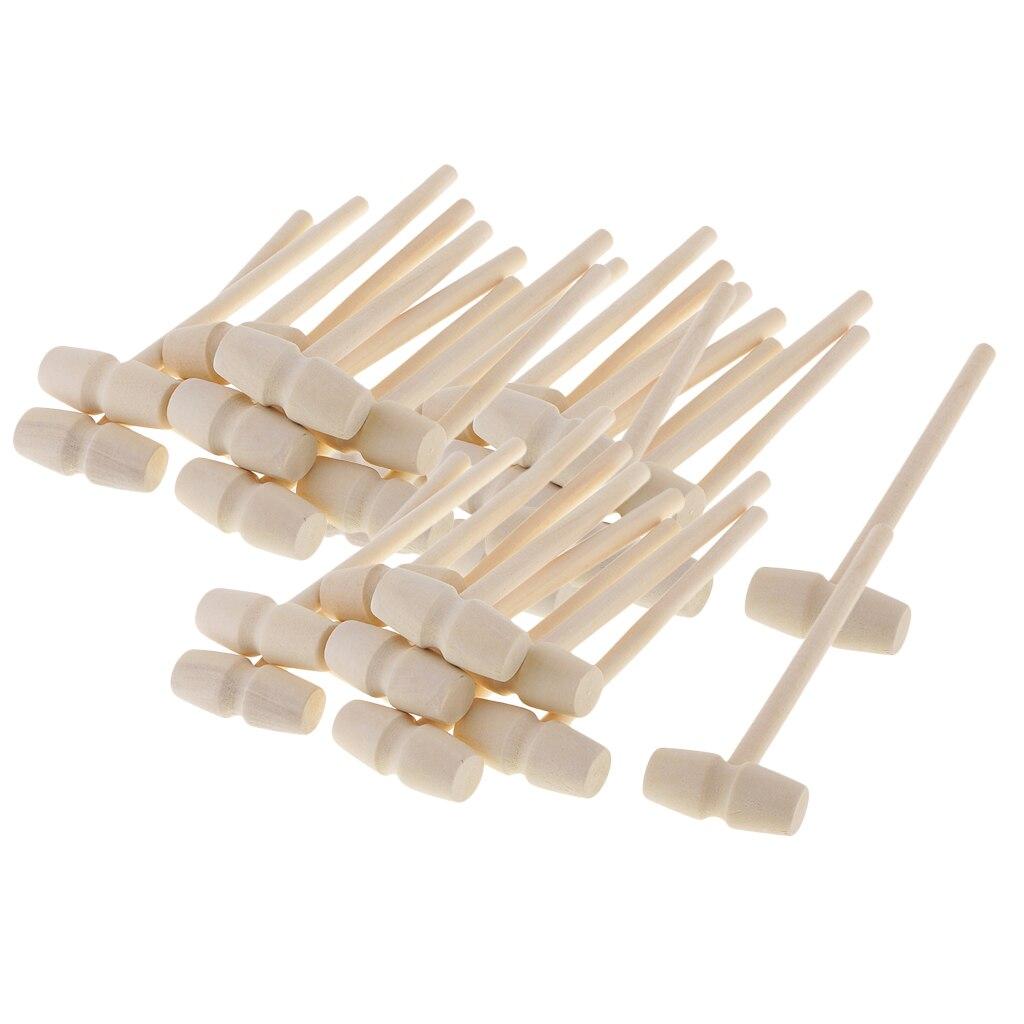 30 шт., детский деревянный молоток