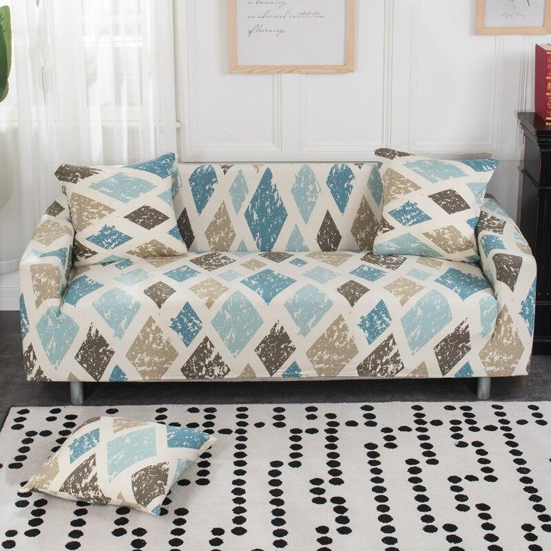 1PC Elastic Sofa Cover Tight Wrap All-inclusive Slip-resistant Couch Cover
