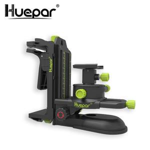 Huepar Pivoting-Base Laser-Level-Adapter Magnetic Multifunctional Adjustable-Clip