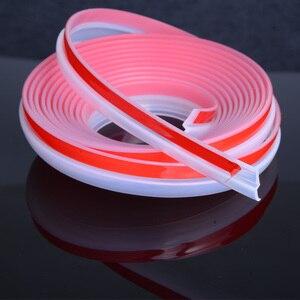 Image 3 - Transparent Z Type Auto Rubber Seals Car Door Sealing Strip Weatherstrip Edge Trim Noise Insulation 2 8 Meters Sound Insulation