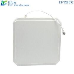 LT-TX1652 UHF antena polarizada Circular 4DBI Gestión de congelador archivo RFID lector antena externa