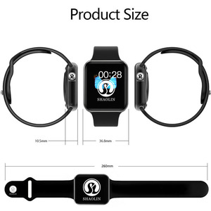 Image 3 - Smart Watch Series 4 for Apple Smart Wristband Fitness Tracker Passometer Heart Rate Sensor Sport Smart Watches (Red Button)
