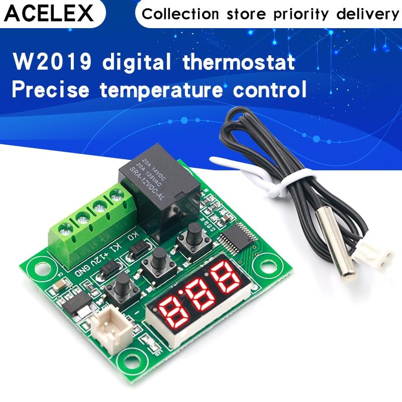 1PCS W1209 DC 12V heat cool temp thermostat temperature control switch temperature controller thermo
