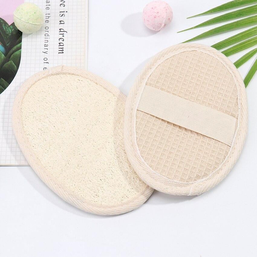 1PC Loofah Bath Shower Sponge Body Scrubber Sponge Scrub Handle Shower Massage Brush Skin Body Washing Accessories 1