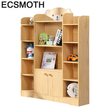 Madera Estante Para Livro Rack Mobilya Decoracion Industrial Oficina Wodden Retro Furniture Decoration Book Shelf Case
