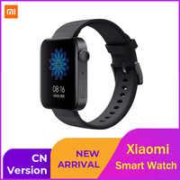 Xiao mi Smart Uhr Tragen 3100 Wasserdichte Sport mi Uhr Gesundheit Daten Monitor Voice Control mi UI für Uhr Standard version