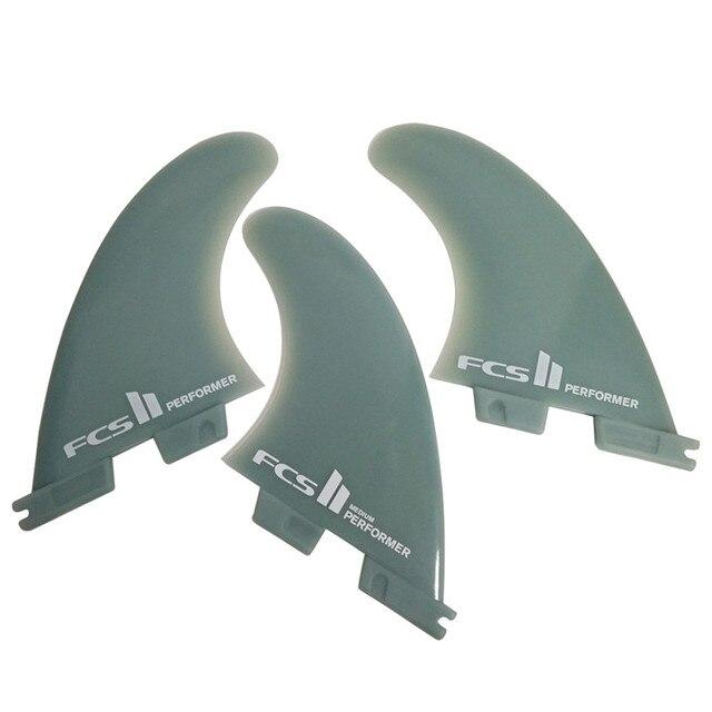 FCS II performeur/réacteur en verre Flex planche de surf, 2 ailettes ou 3 ailettes moyen