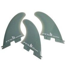 Оригинальные товары FCS II исполнение/реакторная стеклянная гибкая доска для серфинга 2 плавника или 3 плавника средний