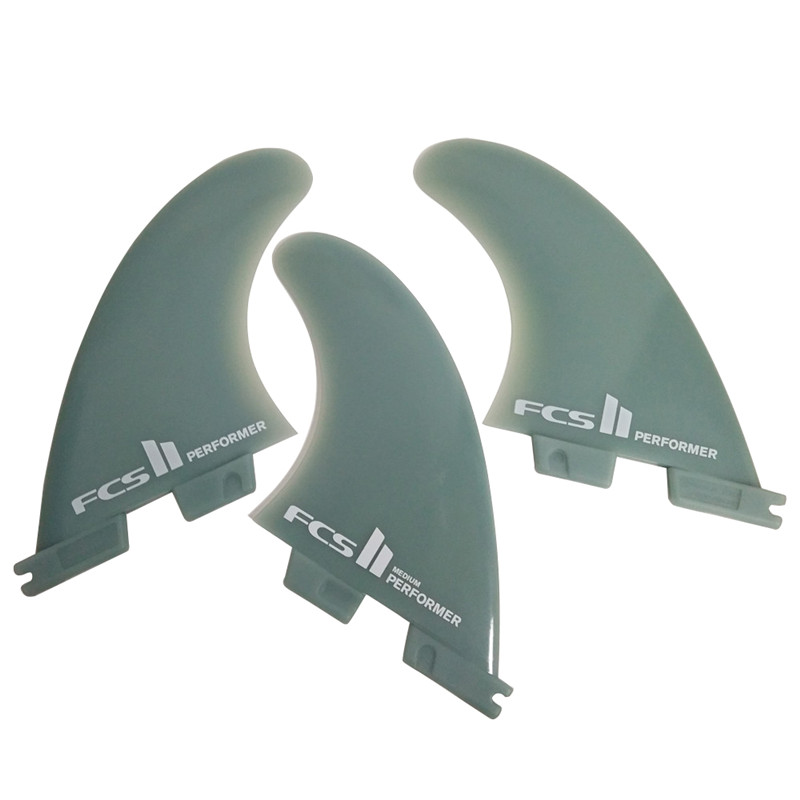 Original Products FCS II Performer/Reactor Glass Flex Surfboard 2 Fins Or 3 Fins - Medium