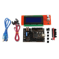 3D Printer Motherboard Kit for Prusa MK3 3S Einsy Rambo 1.1B with TMC2130 SPI + 2004 Lcd
