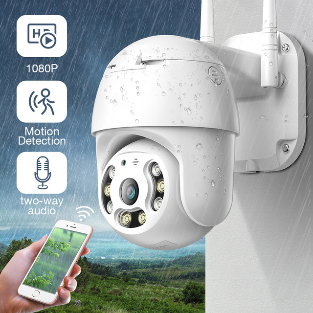 SDETER 1080P PTZ Sicherheit WIFI Kamera Outdoor Speed Dome Drahtlose Ip kamera CCTV Pan Tilt 4X Zoom IR Netzwerk überwachung 720P