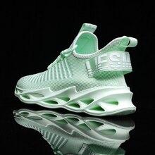 Zapatillas deportivas para hombre y mujer, zapatillas deportivas de moda para hombre, par de zapatillas informales para correr, zapatillas deportivas transpirables de moda 2020