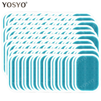 15/30/50/100Pair Replacement Gel Pads For EMS Trainer Weight Loss Abdominal Muscle Stimulator Exerciser Replacement Massage Gel