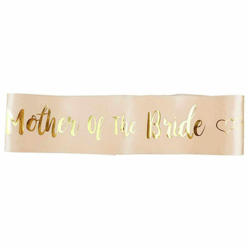 Baru Fashion Pesta Ikat Pinggang Mawar Emas Pengantin untuk Bridesmaid Ikat Pinggang Hen Night Girls Night Out