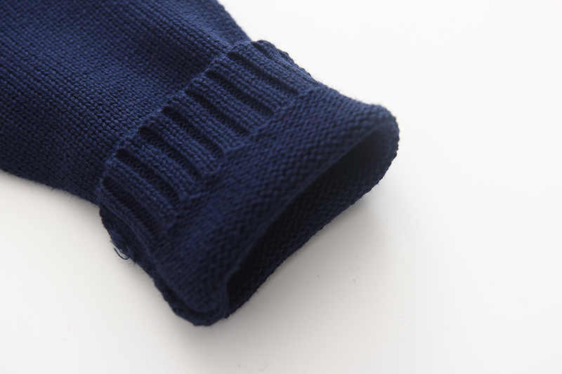 Granatowy dzieci kurtki dla dziewczynek kurtka rozpinany sweter bawełna odzież wierzchnia dziewczyny płaszcz dziewczyny ubrania dla 1 2 3 4 lat 195105