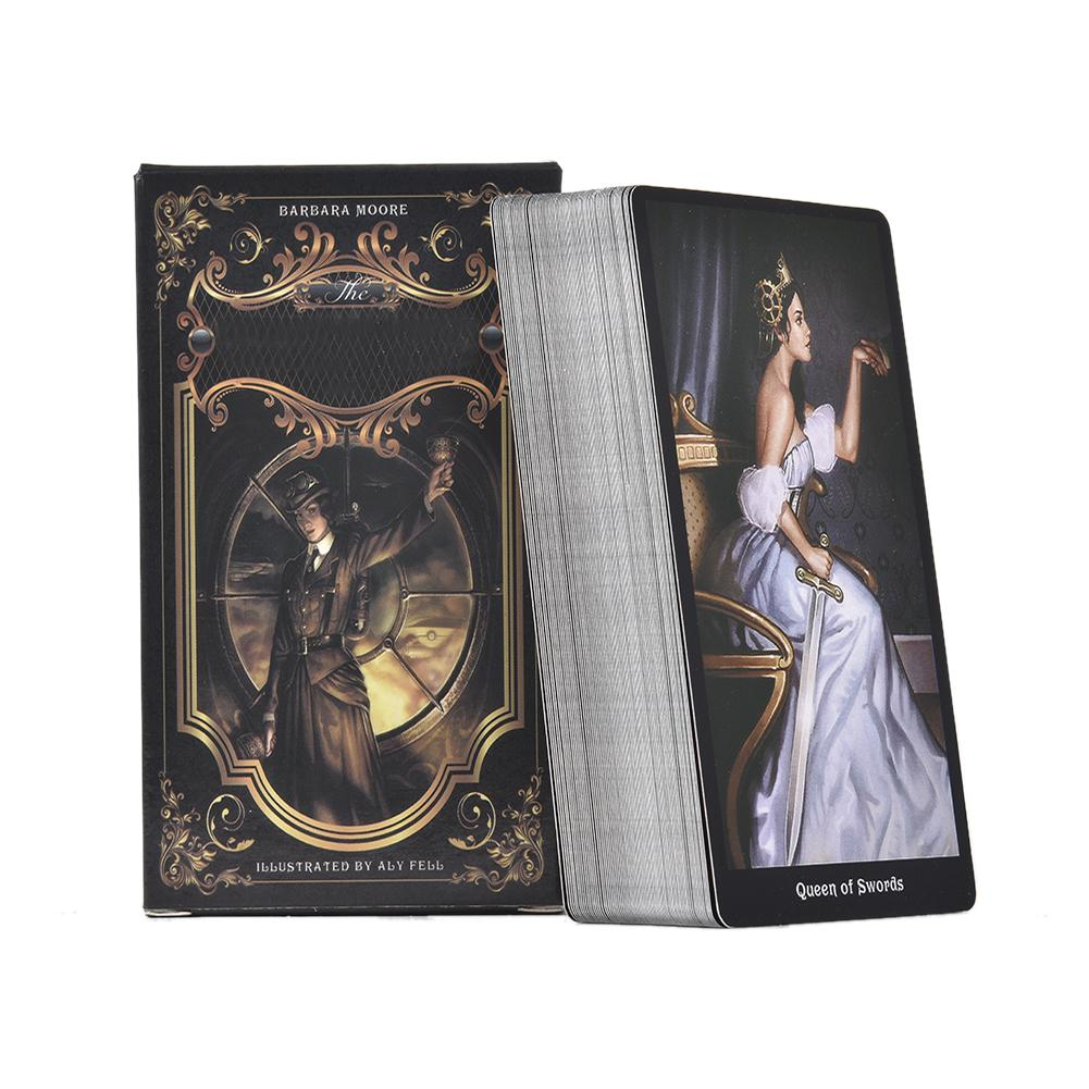 Tarot Cards The Steampunk Tarot Table Deck Board Game Card For Family Gathering Party Playing Card Games