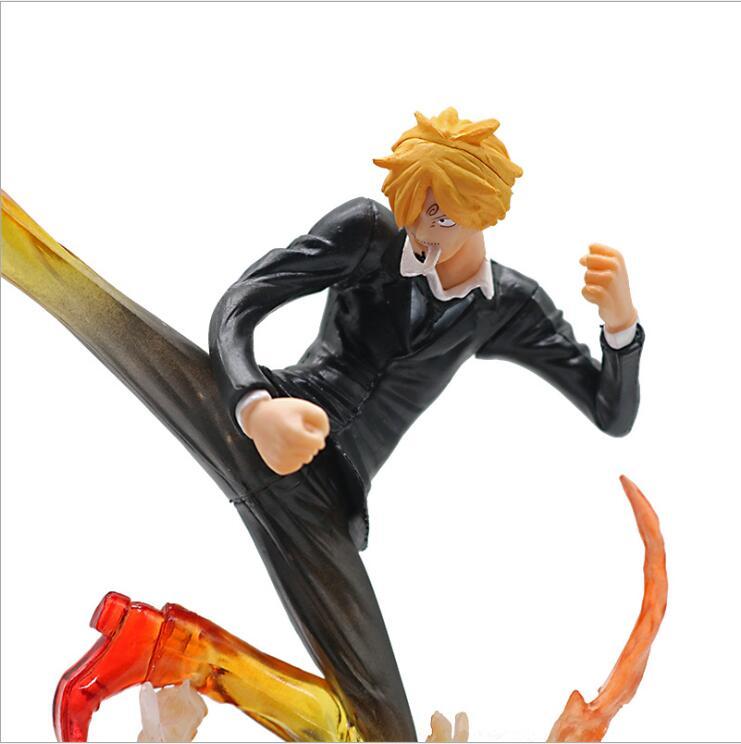 One Piece Action Figure Sanji Api Kaki Model Mainan 160mm Pvc Mainan Anime One Piece Sanji Anime Jepang Gambar One Piece Action Figure Anime Figureaction Figure Aliexpress