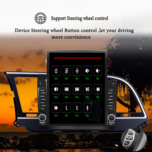 "Image 4 - IPS 9.7 ""Tesla screen Recorder Für Hyundai Elantra 2016 2017 android 10.0 auto Radio Multimedia Player Gps NAVIGATION Dsp fm dvd"