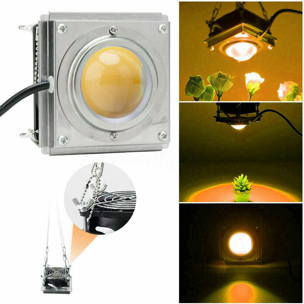Original COB 110/220V 60W LED Grow Light US/EU/AU/UK Plug Full Spectrum LED Indoor Veg Seed Plant Growth Lighting Growing Lamp