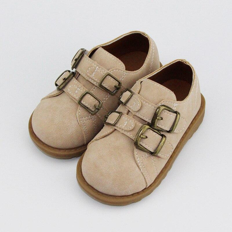 chlidren sapatos meninos meninas sapatos de ervilha couro estudante desempenho apartamentos sapatos nova moda estilo britanico