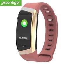 E18 banda inteligente 2020 tela de toque cor ip67 à prova dip67 água pressão arterial oxigênio monitor freqüência cardíaca esporte pulseira rastreador fitness
