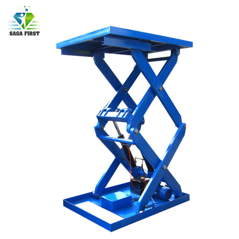 China Stationary Electric Hydraulic Scissor Lift Table For Hot Sales