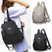 Schoolbag Travel-Backpack Shoulder-Bag Nylon Girls Anti-Theft Women's Lager-Capacity