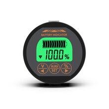 цена на 80V 50A 100A Battery Tester Coulomb Meter Battery Capacity Indicator Ammeter Voltmeter ebike Li-ion Lipo Lithium Lifepo4 battery