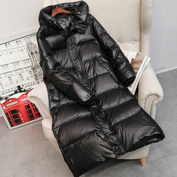 2020 Hot Coat Jacket Winter Women Hooded Parkas Hight Quality Female Winter White Duck Down
