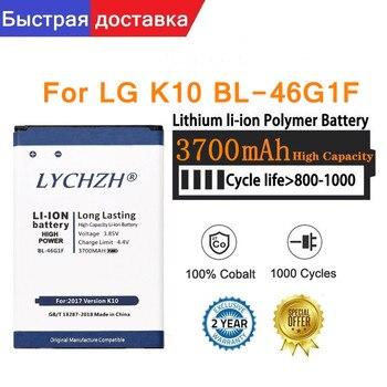 чехол для lg k10 2017 m250 flipcover cfv 290 agrabk black Original 3700mAh BL-46G1F Battery for LG K10 2017 K425 K428 K430H K20 Plus TP260 M250 MS250 X400 LGM-K121K Battery
