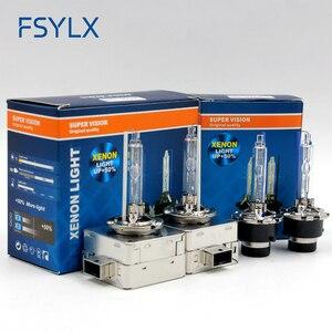Image 3 - Hid lampadina D1S D2S D3S D4S xenon HID faro lampadine AC 12V 4300K 5000K 6000K 8000K D4S D3S D1S D2S CBI lampadina del faro Allo Xeno lampada