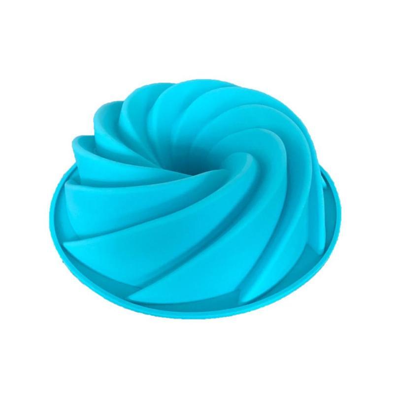 Kleine Größe Silikon Spirale Kuchen Form Schokolade Mould Backen Küche Werkzeuge - 4