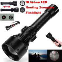 5W Ir 850nm Professionele Nachtzicht Jacht Torch Tactische Infrarood Straling Zoomable Outdoor Licht Waterdicht Zaklamp(China)