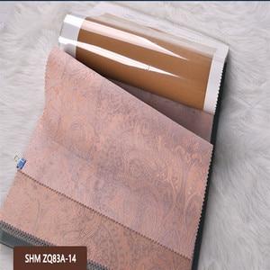 Image 4 - Роскошная Затемняющая тканевая панель, занавеска для гостиной, Солнцезащитная Затемняющая оконная занавеска для спальни, на заказ