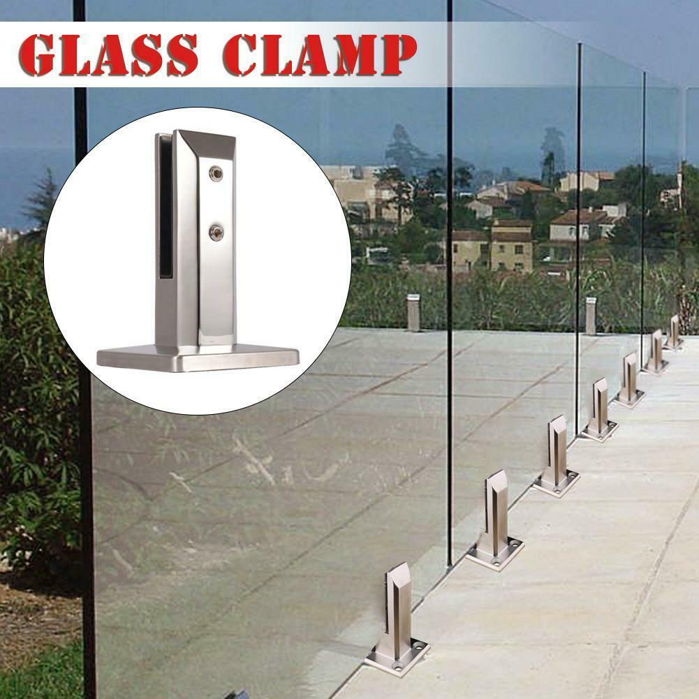 Garde Corps Haut Escalier €16.0 34% de réduction|Étage haut escalier debout balcon piscine verre  robinets poste balustrade garde corps pinces lg66|pinces| | - aliexpress