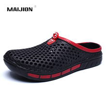 Summer Sandals Breathable Water-Shoes Beach-Slippers Non-Slip Swimming Flat Men for Soft