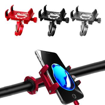 Uchwyt na telefon komórkowy uniwersalna rowerowa motocykl uchwyt zaciskowy na kierownicę dla 3 5-6 5 Cal uchwyt do smartfona montaż GPS uchwyt tanie i dobre opinie DIDIHOU Grawitacji ekspansji CN (pochodzenie) Uniwersalny C-060 Uchwyt na rower 2020 Newest Mobile Phone Holder Bicycle Bike Phone Holder